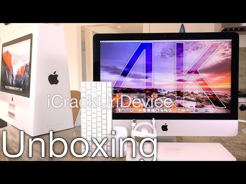 New iMac 21.5 Inch Retina 4K (2015): Unboxing and Review