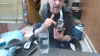 Cheech Dab Rig Bullet Hole Sniper Sandblast Oil Glass Revealing by Sound Experiments