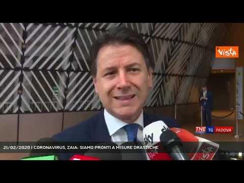 21/02/2020 | CORONAVIRUS, ZAIA: SIAMO PRONTI A MISURE DRASTICHE