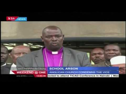 The clergy raises concern over the continued school fires within the country