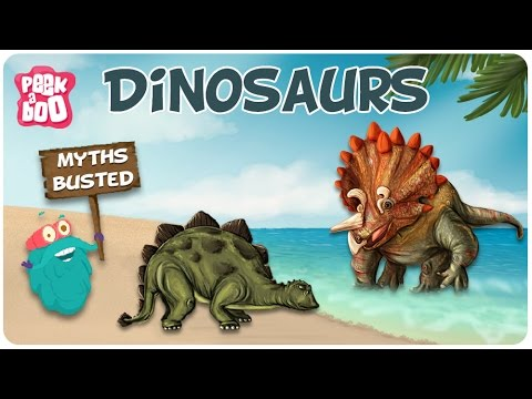 DINOSAURS | The Dr. Binocs Show | Best Educational Videos for Kids | Peekaboo Kids