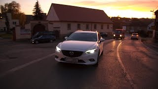 Mazda 6  2,2 Skyactive-D, 129 kW, r.v. 2014