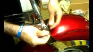 7. Honda VT1300 Sabre Cobra Backrest Part 7