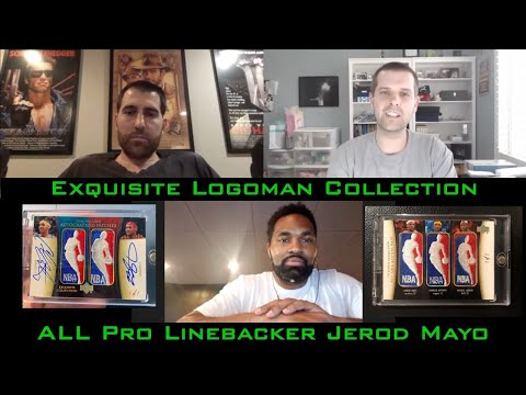 Andy and Former NFL All-Pro Jerod Mayo - Exquisite Logoman Collection | Cardboard Chronicles 65