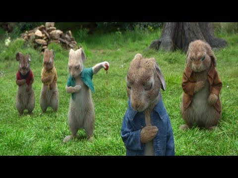 First Encounter - The battle between Thomas and Peter Rabbit ( 2018 )