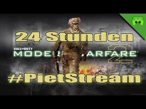 MW2 24 Stunden #PietStream - Mit Jay «» Der Beginn eines langen Streams