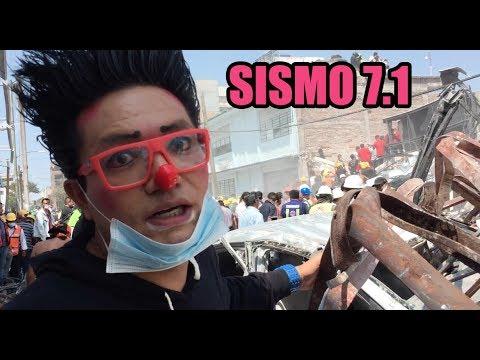 TERREMOTO MEXICO EDIFICIOS DERRUMBADOS / LOS DESTRAMPADOS / SISMO 7.1 (видео)