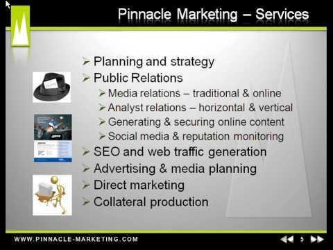 Technology PR – Pinnacle Marketing Communications