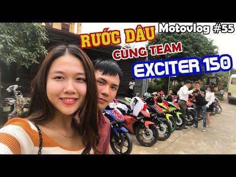 Rước dâu tại Hà Nam cùng club Exciter 150 Touring Miền Bắc | Motovlog 55 - Thời lượng: 14 phút.