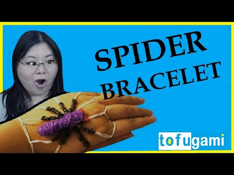 How to Make a Spider Rubber Band Bracelet: No Rainbow Loom Needed