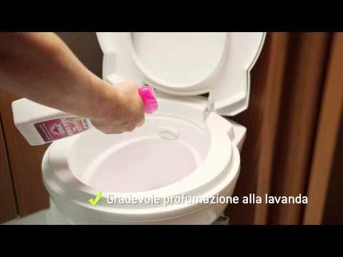 Aqua Rinse Spray Igienizzante Wc Chimico Toilette