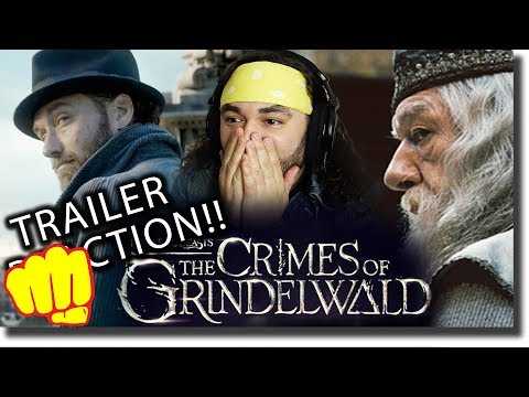 Fantastic Beasts 2: The Crimes of Grindelwald Trailer REACTION!!