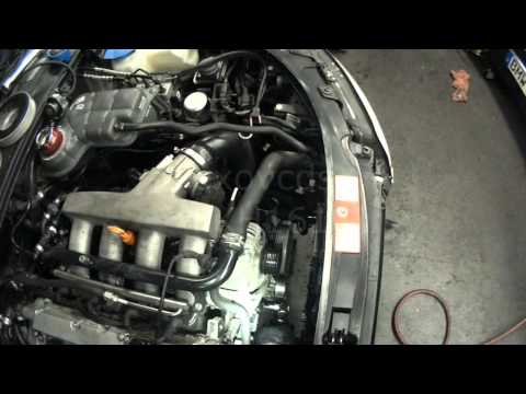 Audi B6: AMB 1.8T Timing Belt & Water Pump Part 4 (Installing Belt & Water Pump)