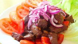 Vietnamese Shaking Beef - Bò lúc lắc