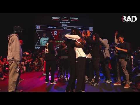LAURENT LES TWINS vs DYKENS - Battle BAD 2019 - HIP-HOP SEMI FINAL