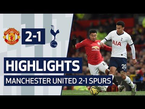 HIGHLIGHTS | MANCHESTER UNITED 2-1 SPURS