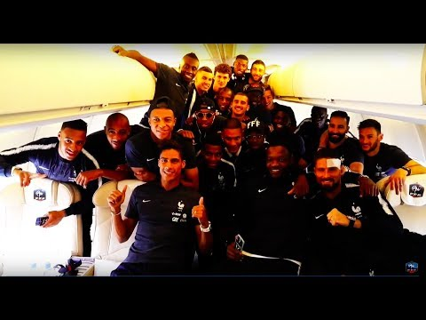 CLIP ÉQUIPE DE FRANCE 2018 - VEGEDREAM RAMENEZ LA COUPE À LA MAISON - HD