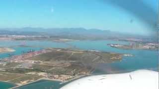 Endanflug Und Landung In Cagliari LIEE Mit Der Cirrus SR20 G2 D-EZDG Der Deutsche Luftfahrt AG