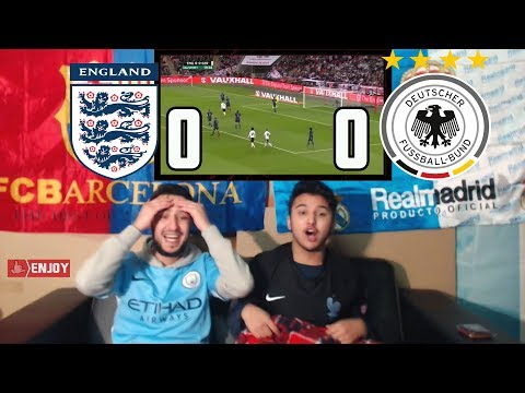England vs Germany 0-0 - All Goals 😂 & Highlights - 10/11/2017 HD - Live Reaction