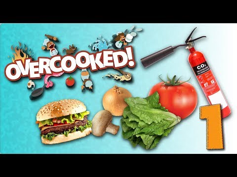 Overcooked - Four Cooks In The Kitchen  - Chapter 1 - Part 1 (Xbox One)