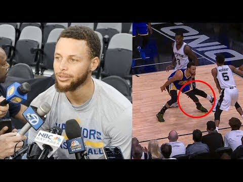 Steph Curry CALLS OUT Dewayne Dedmon Over Cheap Shot to the Knee: \