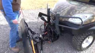9. 2013 Kubota RTV1100 UTV Cab Heat Air 4x4 Diesel Snow Plow For Sale