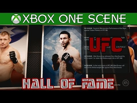 EA Sports UFC 2014 - Career - THE END - Hall of Fame - The Prodigy Achievement / Trophy