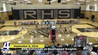 RHS Varsity Volleyball vs Southwood Knights