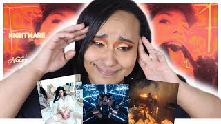 *NEW* HALSEY - NIGHTMARE (Official Music Video) REACTION | I WASN'T READY!