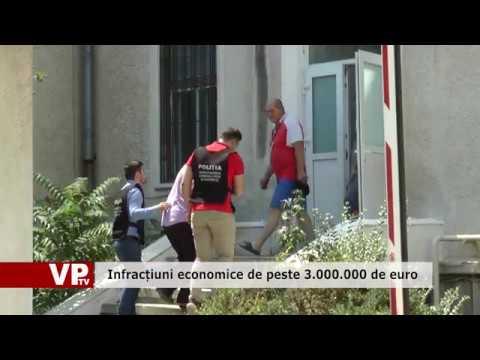 Infracțiuni economice de peste 3 000 000 de euro