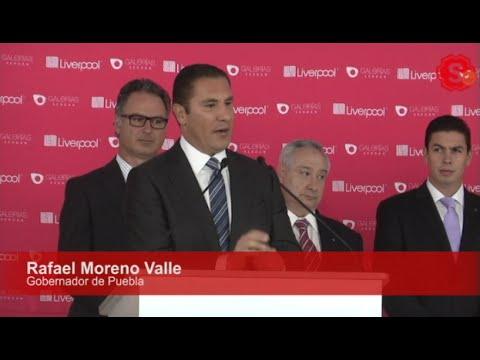 Inauguraci�n de 'Galer�as Serd�n' por Rafael Moreno Valle
