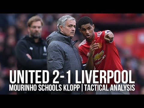 Mourinho Schooled Klopp! Manchester United 2-1 Liverpool | Tactical Analysis