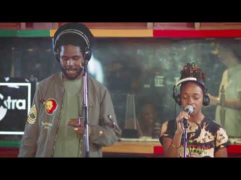 Chronixx & Koffee At Tuff Gong Studios