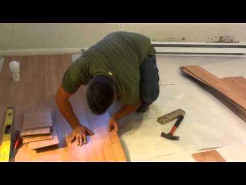 Como installar pisos laminados o flotantes