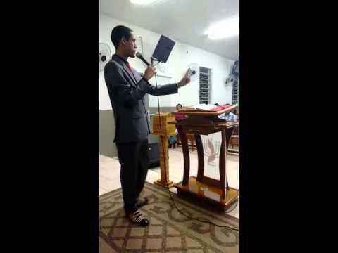 Conferencista Jambson Calheiros Ministrando em Alvinlandia-SP Tema: O milagre do Peixe