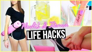 Health&Fitness Life Hacks!
