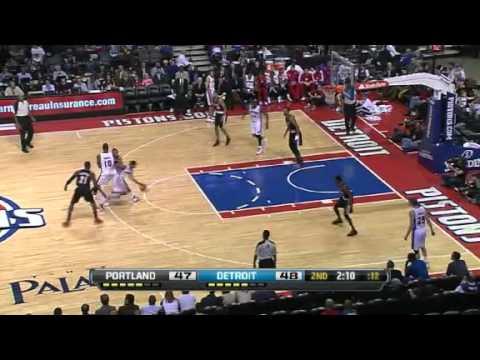 Portland Trail Blazers 101 – Detroit Pistons