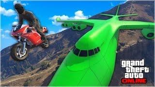 IMPOSSIBLE GTA 5 STUNTS & FAILS (GTA 5 Funny Moments PC)