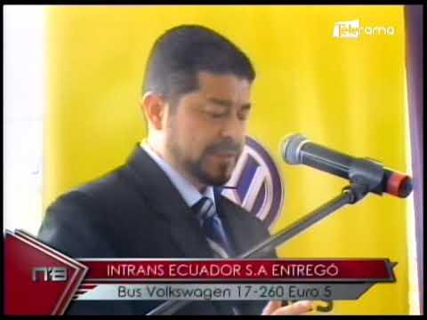 Intrans Ecuador S.A.  entregó Bus Volkswagen 17-260 Euro 5