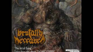 """Video BRUTALY DECEASED - """"The Art of Dying"""" (2016)"""