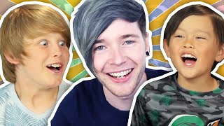 Video DANTDM REACTS TO KIDS REACT TO DANTDM!! MP3, 3GP, MP4, WEBM, AVI, FLV Oktober 2017