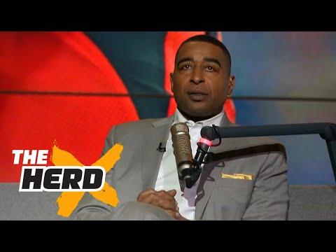 Cris Carter: Dak Prescott looks like Russell WIlson when he was a Rookie   THE HERD (видео)