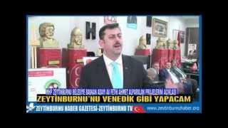 MHP Zeytinburnu Belediye Başkan Adayı Av  Fethi Ahmet Alparslan Projelerini Açıkladı