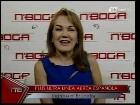 Plus Ultra línea aérea Española ingresa al Ecuador