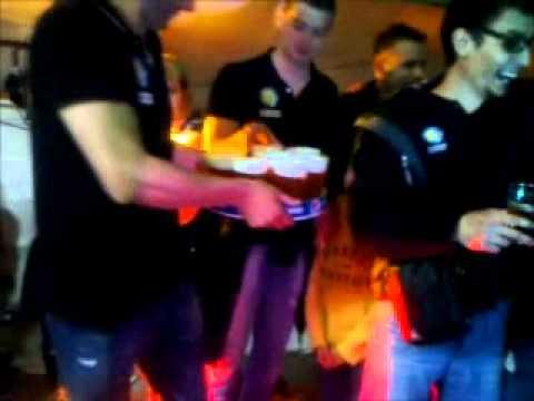 2012 04 21 RK Cimos Koper RK Atletico Madrid in navijači Sebastiana Skubeta_xvid.avi