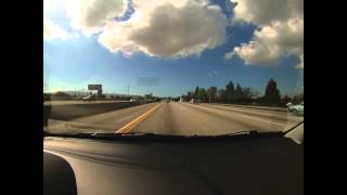 GoPro Hero 3 Time Lapse : Orange to Santa Monica, CA
