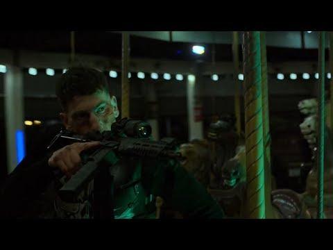 The Punisher - Frank Castle vs Billy Russo Pt.1