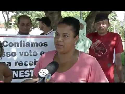 Protesto em Ribas do Rio Pardo cobra cassação de vereadores corruptos