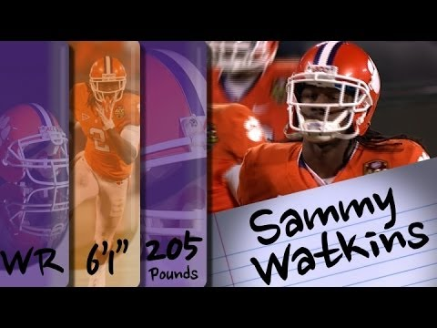 Official Highlights | Clemson WR Sammy Watkins