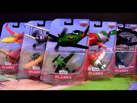 Mattel Disney Planes Toys Skipper, Chupacabra, Leadbottom, Ripslinger World Above Pixar Cars
